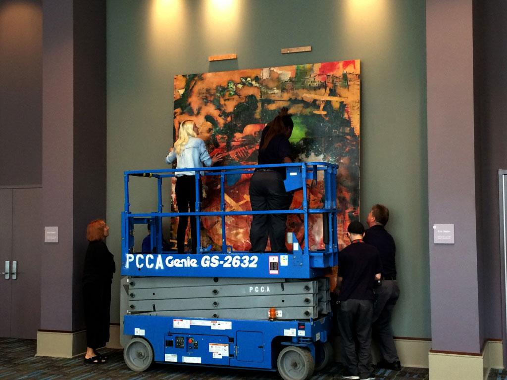 Installation, Ascension, Permanent Collection, Pennsylvania Convention Center, Philadelphia, Pennsylvania