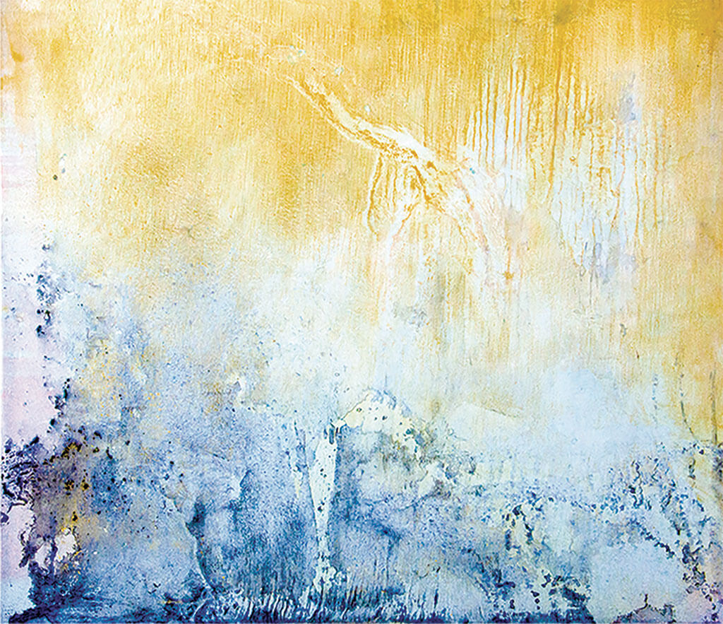 """Yellowstone 15, oil on canvas, 50""""x 58"""", $8000"""