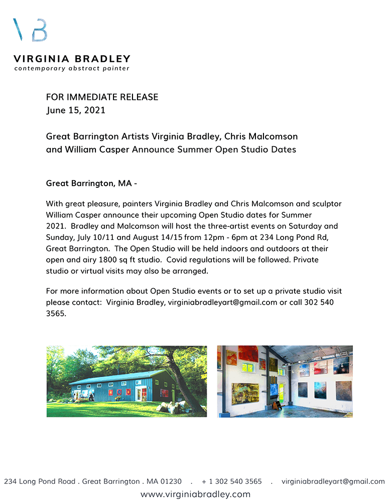 For immediate release UPDATED Open studio July _ August 2021-page 1