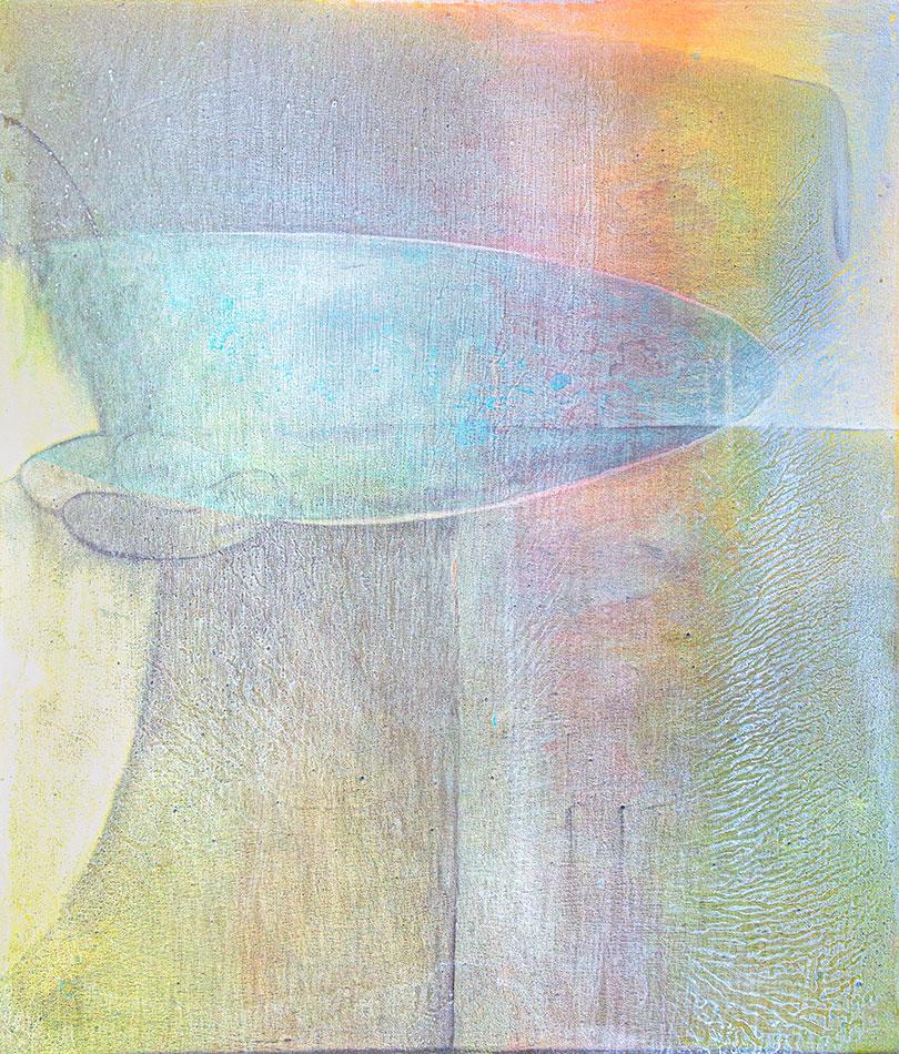 Yellowstone 16, oil on canvas by Virginia Bradley