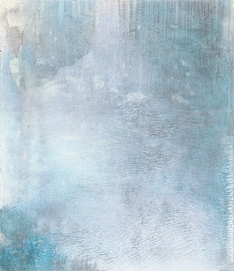 Yellowstone 4 - abstract painting