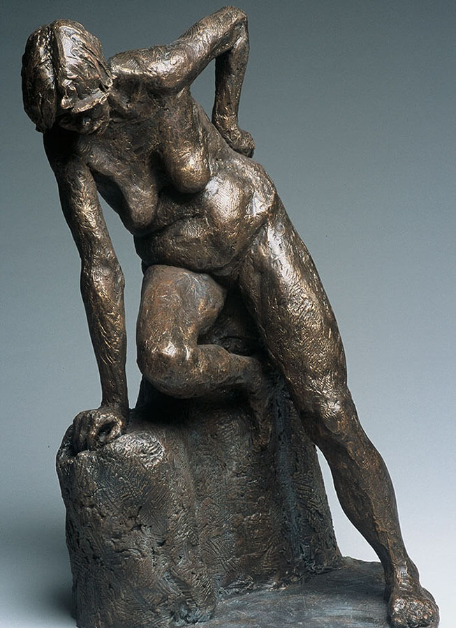 Becky's Effort, sculpture by William Casper
